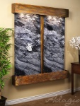 cottonwood-falls-wall-water-feature-with-black-spider-marble-and-rustic-copper-finish-squared