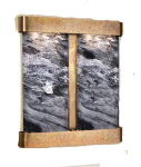 cottonwood-falls-wall-water-feature-with-black-spider-marble-and-rustic-copper-finish