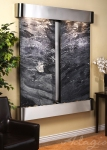 cottonwood-falls-wall-water-feature-with-black-spider-marble-and-stainless-steel-finish