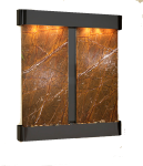 cottonwood-falls-wall-water-feature-with-brown-marble-and-blackened-copper-finish